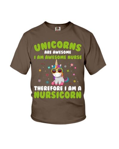 Unicorns Are Awesome I Am Awesome Nurse