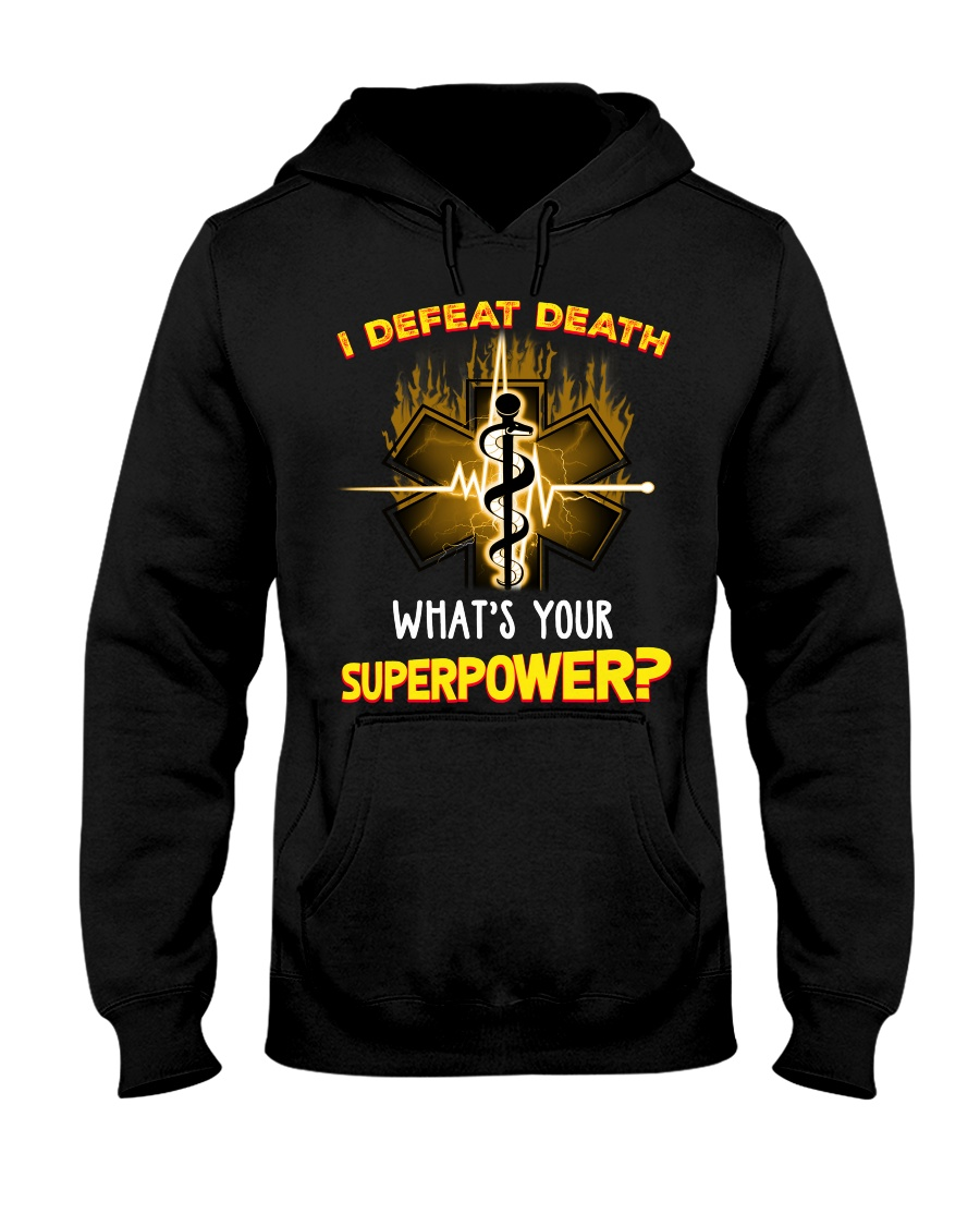 Doctor What's Your Superpower Hooded Sweatshirt