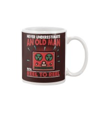 Never Underestimate An Old Man With Reel To Reel Mug thumbnail