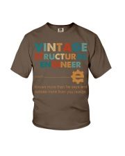 Vintage Structural Engineer Knows More Than He Youth T-Shirt thumbnail