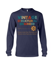 Vintage Structural Engineer Knows More Than He Long Sleeve Tee thumbnail