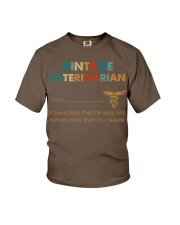 Vintage Veterinarian Knows More Than He Says Youth T-Shirt thumbnail