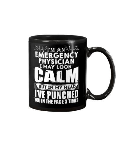 I'm An Emergency Physician I May Look Calm