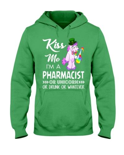 Kiss Me I'm Pharmacist Or Unicorn