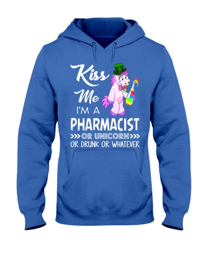 Kiss Me I'm Pharmacist Or Unicorn