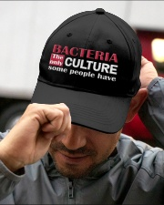 Bacteria The Only Culture Some People Have Embroidered Hat garment-embroidery-hat-lifestyle-01