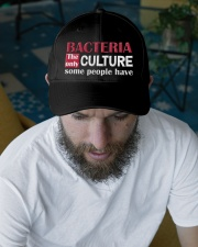 Bacteria The Only Culture Some People Have Embroidered Hat garment-embroidery-hat-lifestyle-06