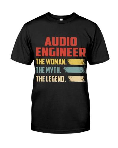 Audio Engineer  The Woman The Myth