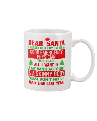 Dear Santa Good Emergency Physician
