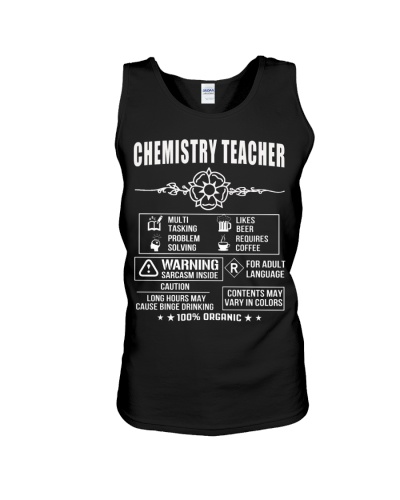 Multi Tasking Chemistry Teacher