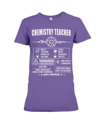 Multi Tasking Chemistry Teacher