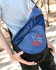 Im In Vet School Sling Pack garment-embroidery-slingpack-lifestyle-08
