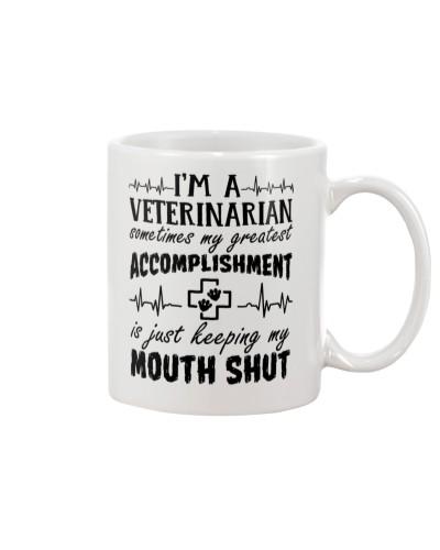I'm A Veterinarian Accomplishment