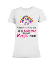 Anesthesiologists Are Like Unicorns Premium Fit Ladies Tee thumbnail