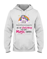 Anesthesiologists Are Like Unicorns Hooded Sweatshirt thumbnail