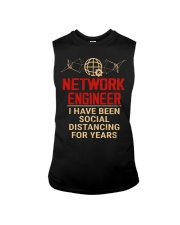 Network Engineer Has Been Social Distancing Sleeveless Tee thumbnail