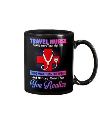 Knows More Than She Says Travel Nurse