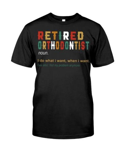 Retired Orthodontist
