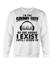 I'm The Sound Guy No One Knows Crewneck Sweatshirt thumbnail