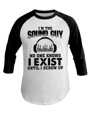 I'm The Sound Guy No One Knows Baseball Tee tile