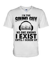 I'm The Sound Guy No One Knows V-Neck T-Shirt thumbnail