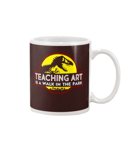 Teaching Art Is A Walk In The Park
