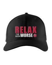 Relax I've Seen Worse Embroidered Hat front