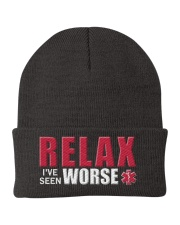 Relax I've Seen Worse Knit Beanie thumbnail