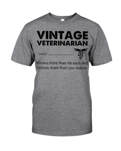 Vintage Veterinarian Knows More Than He Says