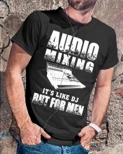 Audio Mixing Like DJ But For Men Classic T-Shirt lifestyle-mens-crewneck-front-4