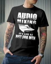 Audio Mixing Like DJ But For Men Classic T-Shirt lifestyle-mens-crewneck-front-6
