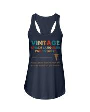 Vintage SLP Knows More Than He Says Ladies Flowy Tank thumbnail