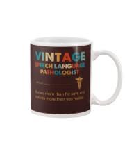 Vintage SLP Knows More Than He Says Mug thumbnail
