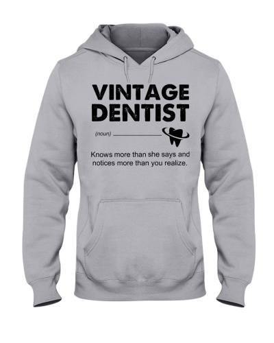 Vintage Dentist Knows More Than She Says
