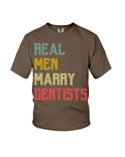 Real Men Marry Dentist Youth T-Shirt thumbnail
