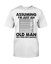Assuming I'm Just An Old Man Premium Fit Mens Tee tile