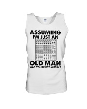 Assuming I'm Just An Old Man Unisex Tank tile