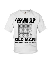 Assuming I'm Just An Old Man Youth T-Shirt tile