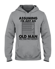 Assuming I'm Just An Old Man Hooded Sweatshirt front