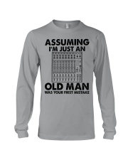 Assuming I'm Just An Old Man Long Sleeve Tee tile