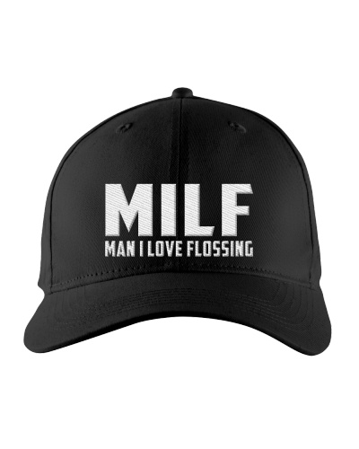 Milf Man I Love Flossing Dental Gift