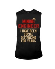 Mining Engineer Social Distancing For Years Sleeveless Tee thumbnail
