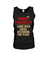 Mining Engineer Social Distancing For Years Unisex Tank thumbnail