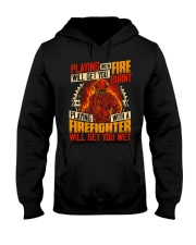 Playing With Firefighter Get You Wet Hooded Sweatshirt thumbnail