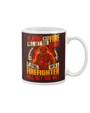 Playing With Firefighter Get You Wet Mug thumbnail