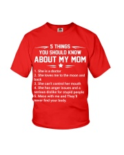 5 Things About Doctor Mom Youth T-Shirt thumbnail