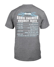Audio Engineer Hourly Rate Classic T-Shirt thumbnail