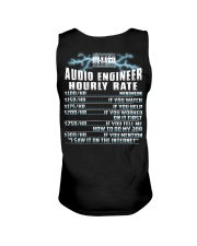 Audio Engineer Hourly Rate Unisex Tank thumbnail
