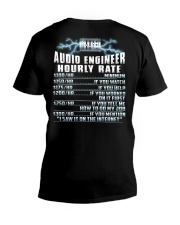 Audio Engineer Hourly Rate V-Neck T-Shirt thumbnail
