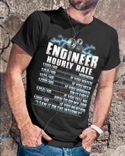 Engineer Hourly Rate Classic T-Shirt lifestyle-mens-crewneck-front-4